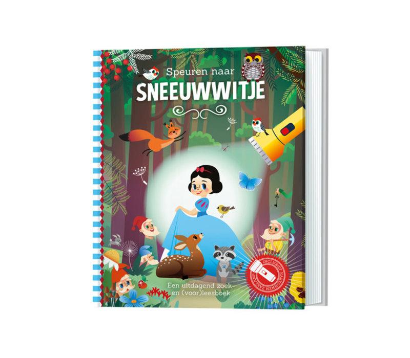 Lantaarn - zaklampboek - speuren naar sneeuwwitje