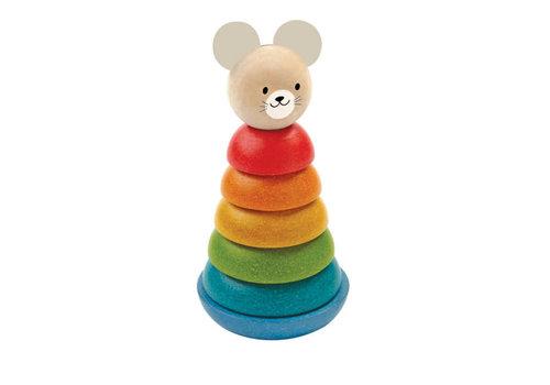Plan Toys Plan Toys - stapeltoren - muis