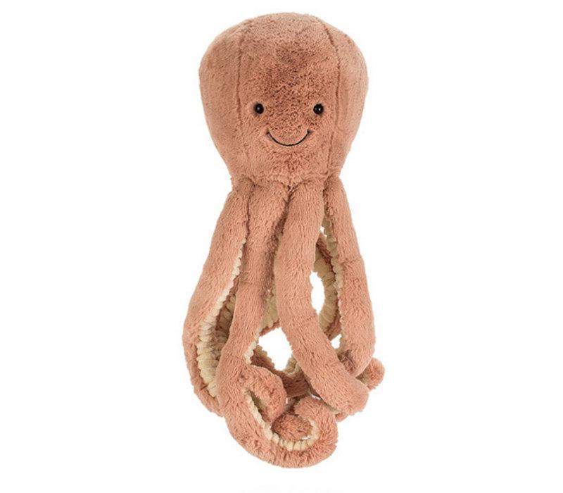 Jellycat - knuffel odell octopus - medium