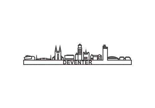 City shapes City shapes - skyline 90 cm - Deventer