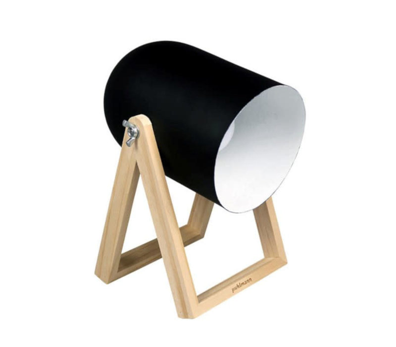 Puhlmann - tafellamp studio - zwart