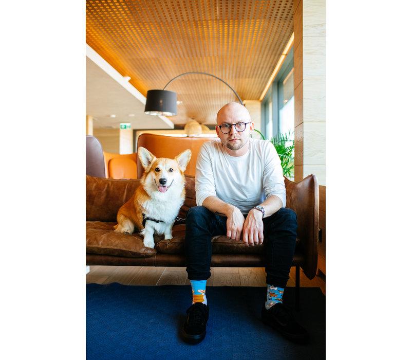 Many mornings - sokken - playful dog