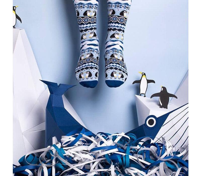 Many mornings - sokken - ice pinguin