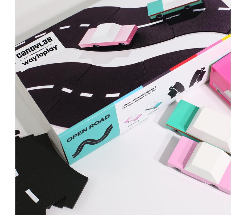 Way to play x Candylab - flexibele autobaan - open road