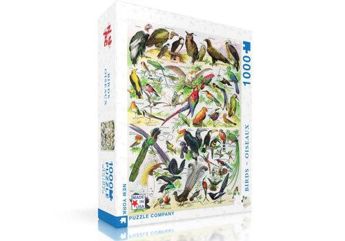 New York puzzle company New York puzzle company - birds oiseaux (1000 stukjes)