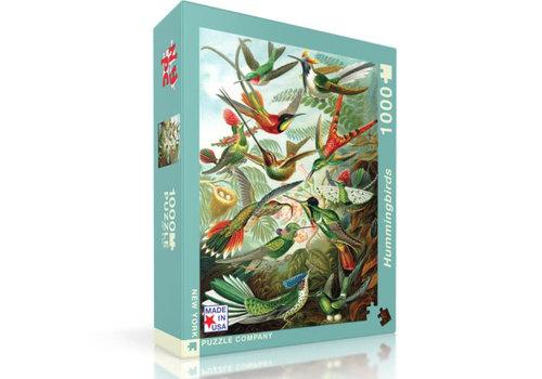 New York puzzle company New York puzzle company - hummingbirds (1000 stukjes)