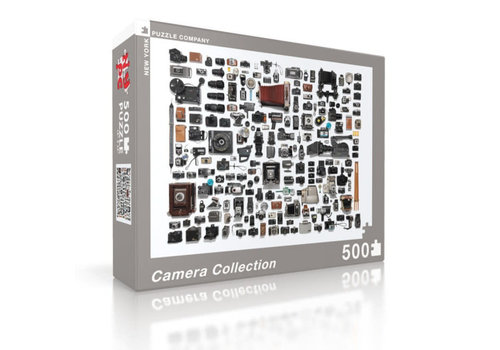 New York puzzle company New York puzzle company - camera collection (500 stukjes)