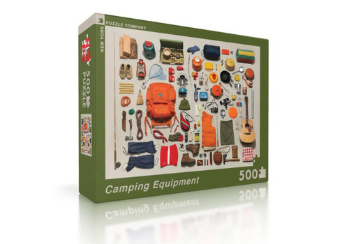 New York puzzle company New York puzzle company - camping equipment (500 stukjes)