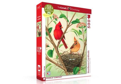 New York puzzle company New York puzzle company - northern cardinals (500 stukjes)