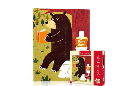 New York puzzle company New York puzzle company - bear bum mini (100 stukjes)