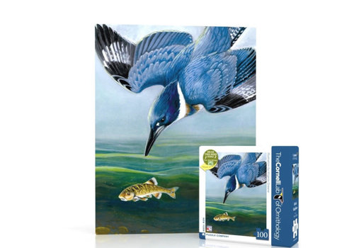 New York puzzle company New York puzzle company - belted kingfisher mini (100 stukjes)