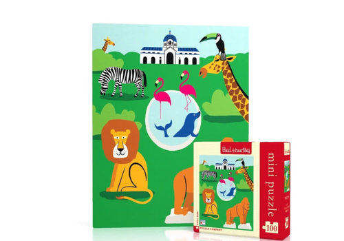 New York puzzle company New York puzzle company - zoo mini (100 stukjes)
