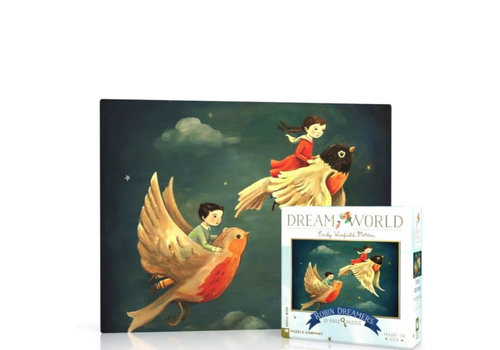 New York puzzle company New York puzzle company - dream robin mini (20 stukjes)