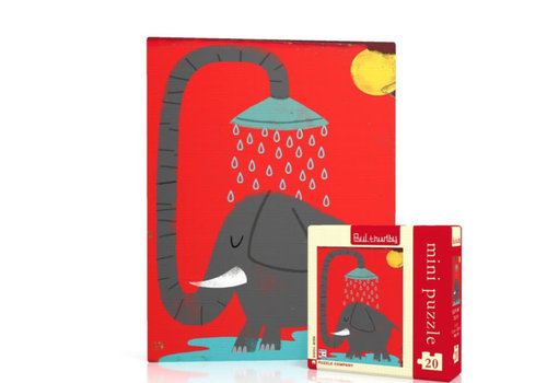 New York puzzle company New York puzzle company - elephant mini (20 stukjes)