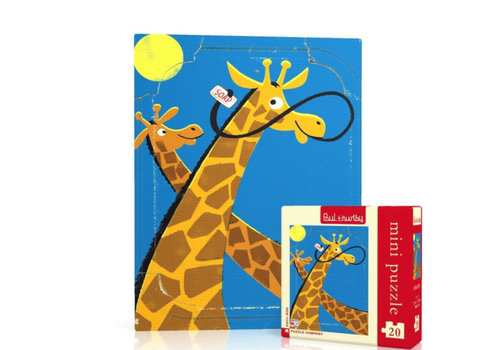 New York puzzle company New York puzzle company - giraffes mini (20 stukjes)