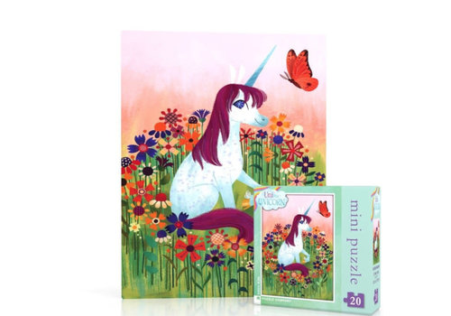 New York puzzle company New York puzzle company - uni the unicorn mini (20 stukjes)