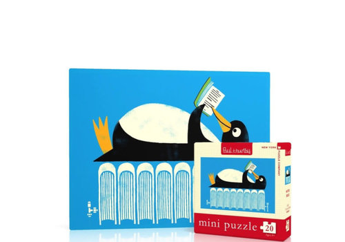 New York puzzle company New York puzzle company - winter reads mini (20 stukjes)