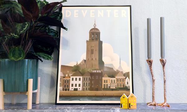 Deventer souvenirs | Van keukenschort tot iconisch silhouet