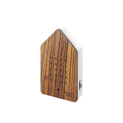 Zwitscherbox - birdybox - zebrano