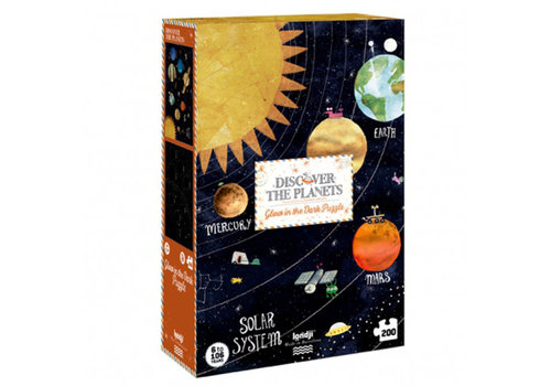 Londji Londji - puzzel - discover the planets