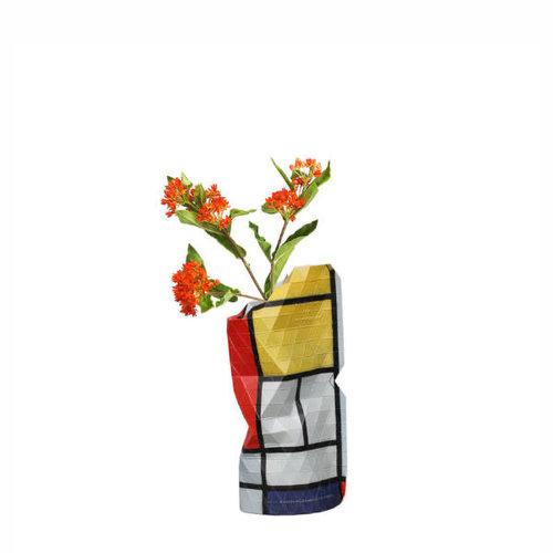 Pepe heykoop - vaas cover klein - composition red (Mondriaan)