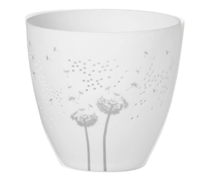 Rader - poetry light dandelion - silver