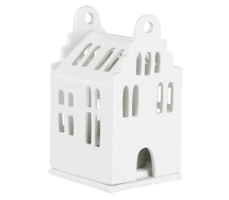Rader - small lighthouse - gable roof house