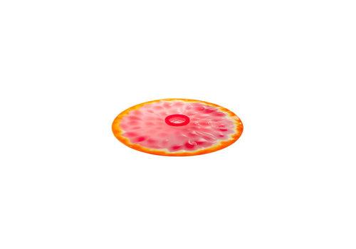 Charles Viancin Charles Viancin - siliconen deksel - grapefruit (20 cm.) (nieuw)