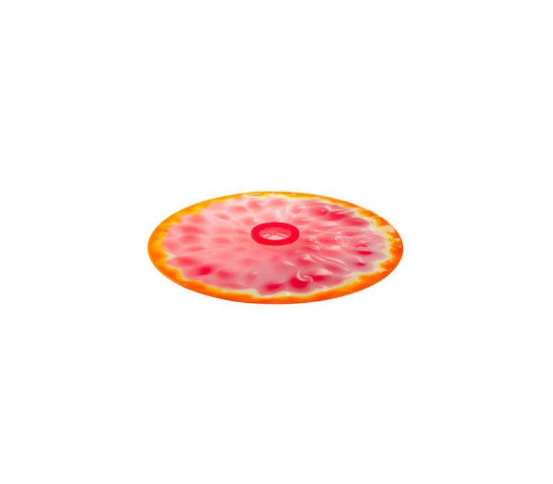 Charles Viancin - siliconen deksel - grapefruit (20 cm.) (nieuw)