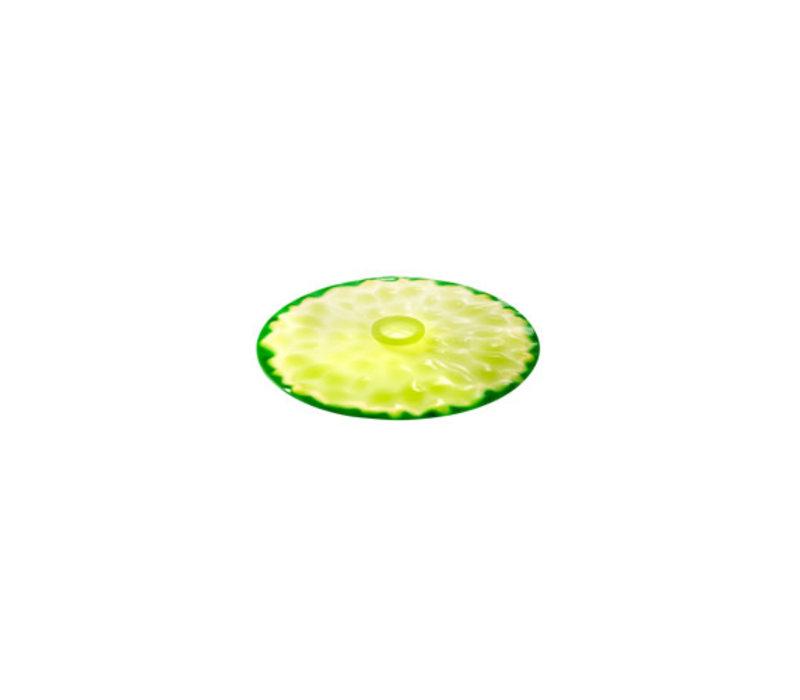 Charles Viancin - siliconen deksel - lime (15 cm.) (nieuw)