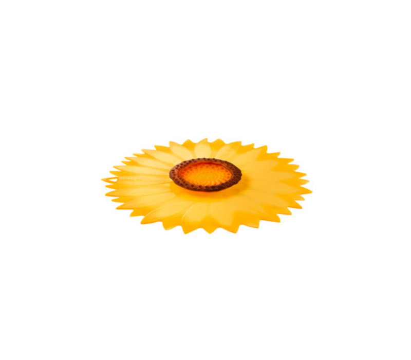 Charles Viancin - siliconen deksel - sunflower (20 cm.) (nieuw)