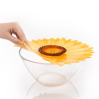 Charles Viancin - siliconen deksel - sunflower (23 cm.) (nieuw)