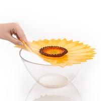 Charles Viancin - siliconen deksel - sunflower (28 cm.) (nieuw)