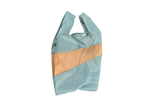 Susan Bijl Susan Bijl - shoppingbag l - grey & camel