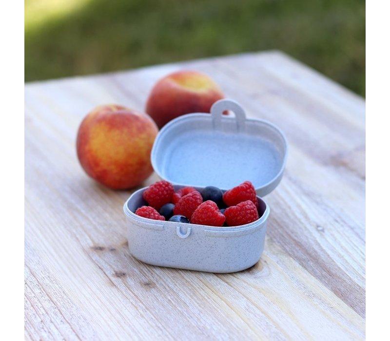 Koziol - lunchbox pascal mini - organic blue