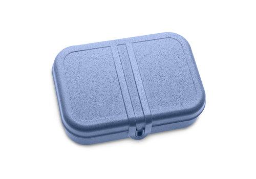 Koziol Koziol - lunchbox pascal L (met compartiment) - organic blue