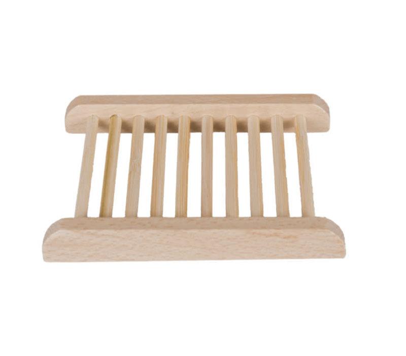 Happysoaps - zeephouder van hout