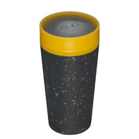 RCUP - beker 340ml - zwart/geel