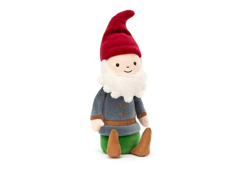 Jellycat Jellycat - dressed to impress gnome jim - knuffel kabouter