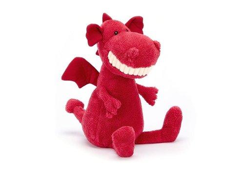 Jellycat Jellycat - toothy dragon - knuffel draak