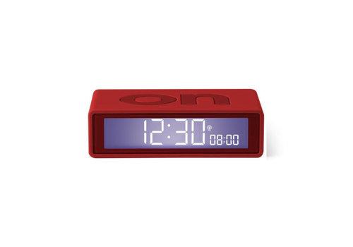 Lexon Lexon - flip+ rcc wekker - red
