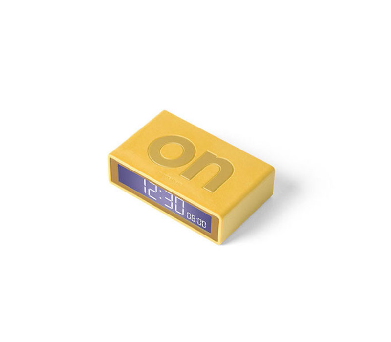 Lexon - flip+ reiswekker - yellow