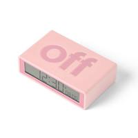 Lexon - flip+ rcc wekker - pink