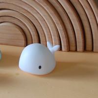 Flow - nachtlampje mini - moby walvis wit