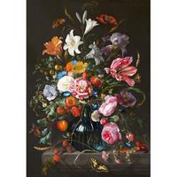 Painted amsterdam - sokken - de heem flowers