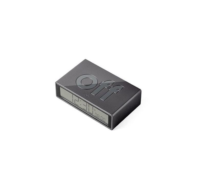 Lexon - flip+ reiswekker - antrachite