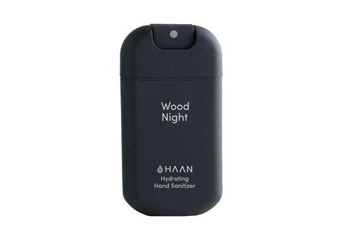 Haan hand sanitizer Haan -  hydrating hand sanitizer - wood night