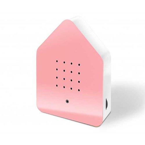 Zwitscherbox - vogelhuis relaxing - light pink