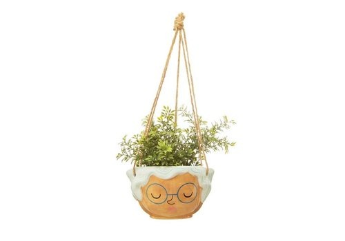 Sass & Belle Sass & Belle - hanging planter - rose