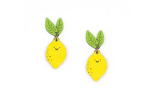 Materia Rica Materia Rica - oorbellen veggies - mrs. Lemon